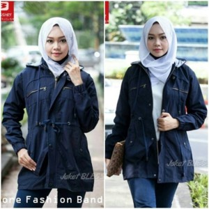 JAKET PARKA CEWE CANVAS ORIGINAL