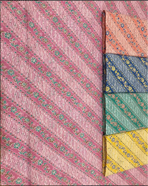 Kain Batik Pekalongan K71b Bahan Katun Prima Halus