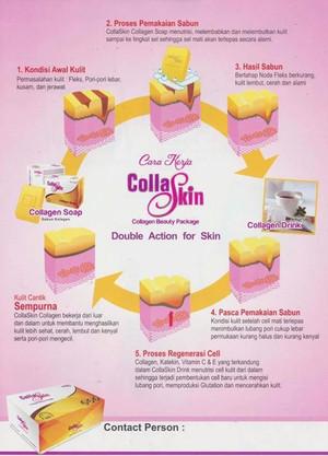 COLLASKIN-Collagen Soap & Drink