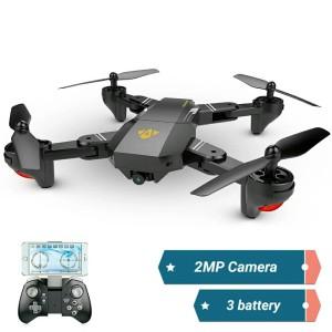 Drone VISUO XS809HW 3 Battery Wifi FPV 2MP Camera