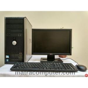 "Komputer Sekolah Dell Optiplex 380 Tower Core2Duo | LCD DELL 17"" wide"