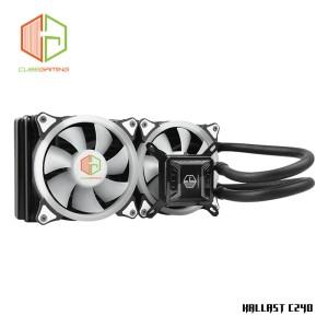 CUBE GAMING KALLAST C240 - AIO Water Cooler 240mm Radiator