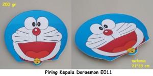 PIRING KEPALA MELAMIN DORAEMON / PIRING DORAEMON