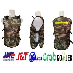Rompi Motor Army / Pelindung dada / Body Protector