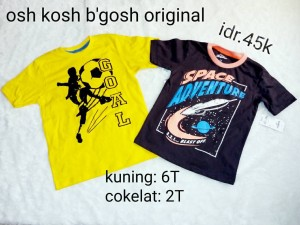 kaos baju anak kids original branded osh kosh b'gosh authentic