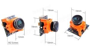 PROMO!!! Bundled RunCam Micro Swift 600TVL 2.1mm dengan Eachine DTX03
