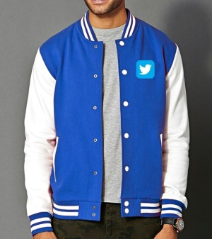 VARSITY TWITTER - JAKET SOCIAL MEDIA ORDINAL APPAREL