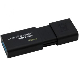Flashdisk Kingston 16GB SPEED 40MBPS USB 3.0 - DT100G3 HITAM