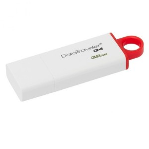 Flashdisk Kingston 32GB USB 3.0 - DTIG4 MERAH