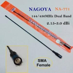 Antena HT Panjang Model Lentur - Lidi Nagoya NA-771 Dual Band