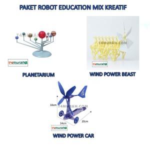 robot education paket hemat super lengkap kreatif