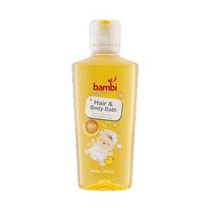 Bambi Baby Hair And Body Bath 200ml