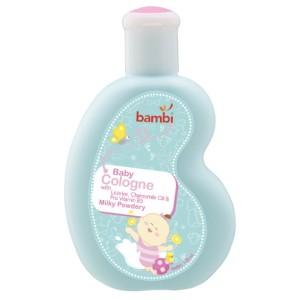 Bambi Baby Cologne 100ml - Milky Powdery