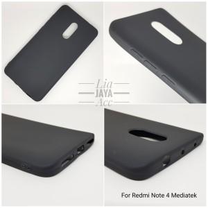 Xiaomi Redmi Note 4 Mediatek Case Silicone Matte