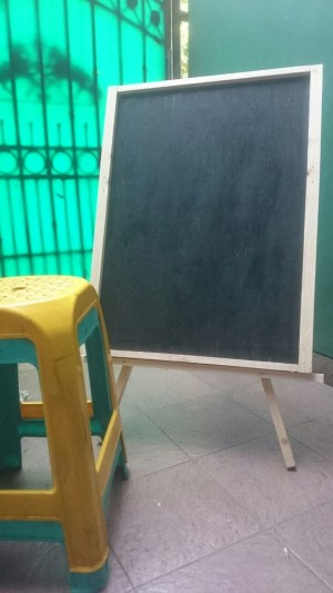 Jual Papan Tulis Kapur Cafe 80 X 60 Cm Menu Promosi Black Board Kota Tangerang Westart Tokopedia