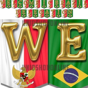 Custom / Personalised Bunting Flag Banner Besar