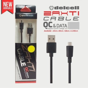 20cm Kabel Zaxti 3A Fast Charger Micro Original Charging Samsung Sony