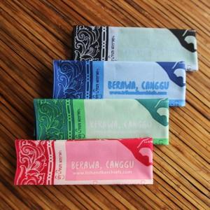 Sapu Tangan/Slayer/Bandana/Handkerchief Peta Berawa Bali