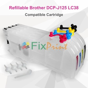 Cartridge Refillable MCISS Brother DCP J125 J315W J515W MFC J220 J265W