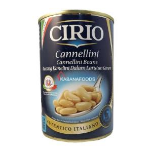 Kacang Kanelini Dalam Larutan Garam Cirio Cannellini Beans 400g