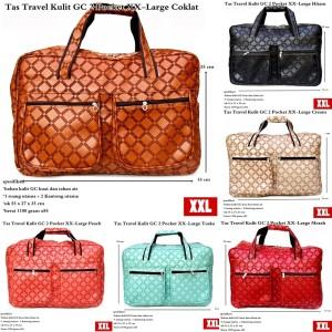 Tas Jinjing Travel Besar Kulit GC 2 Pocket XX-Large