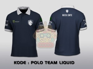 POLO SHIRT TEAM LIQUID