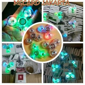 FIDGET SPINNER LAMPU LED Fidget Spinner Lampu led
