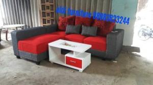 Jual kursi tamu sofa minimalis aldi furniture Tokopedia