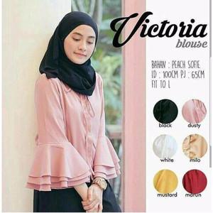 Baju Blus Victoria/ Kualitas Terbaik/ Fashionable/ Bermerk