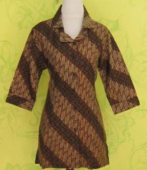 Blouse Batik BELLINDA PARANG BINTANG