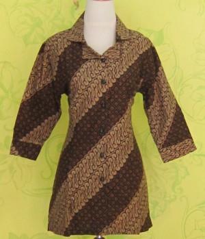 Blouse Batik BELLINDA PARANG BULAT