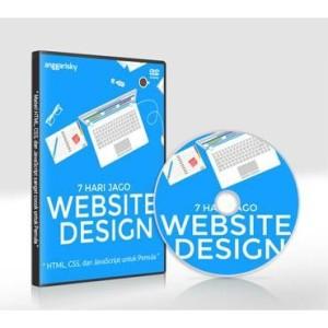 DVD VIDEO TUTORIAL HTML CSS DAN JAVASCRIPT - SEMINGGU JAGO WEB DESIGN