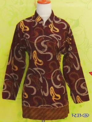 Blouse Batik KAYLA UKIR MERAH