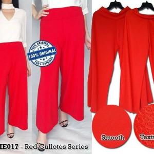 E172  MissLie Red Cullotes Series original branded