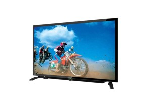 SHARP 32LE185 LED TV - Hitam [32 Inch] USB MOVIE
