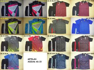 Baju Kaos Olahraga Jersey SETELAN Futsal / Bola MURAH Adidas