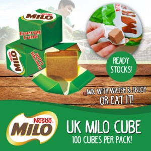 MILO CUBE ~~ READY STOCK TGL 24 APRIL! ISI 100PCS