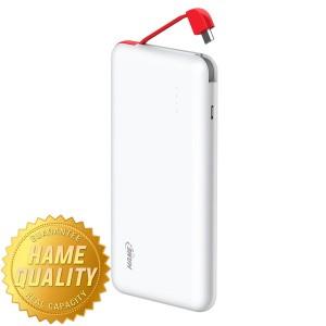 Powerbank Hame T6 kapasitas 10000mah Slim Original