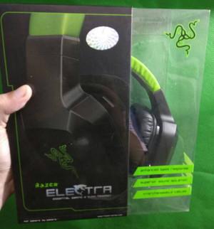 Headset Razer Electra Original Segel Green