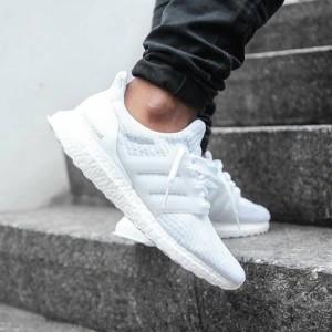 Sepatu Casual / Sepatu Pria / Sepatu Adidas Ultra Boost 3.0 Full White