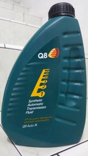 Jual Oli Transmisi Matic Automatic Q8 Synthetic ATF