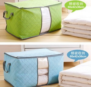 box tempat penyimpanan baju   bamboo storage anti apek   keranjang