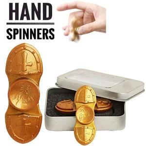 Spinner Metalic Cross Gold