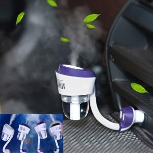 Pelembab Mobil 2 Usb Charger multifungsi bagus Car Humidifier Nanum