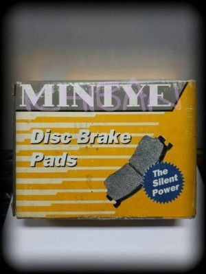 Brake Pads Kampas Kanvas Rem Belakang MINTYE All New CRV, Civic, SX4