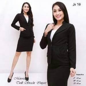 blazer formal wanita