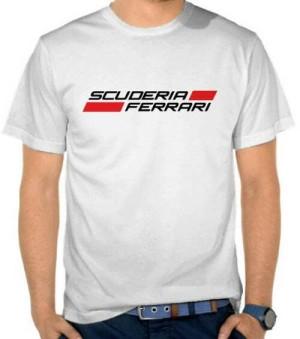 Tshirt Scuderia Ferrari/ Kaos Oblong Scuderia Ferrari/ Kaos Murah