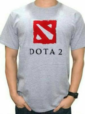 Tshirt Dota 2/ Kaos Oblong Dota 2/ Kaos Sablon Murah