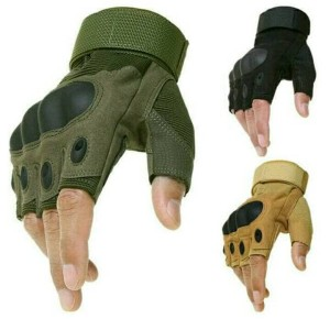 SARUNG TANGAN TACTICAL -- HALF GLOVES