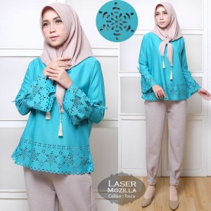 Blouse muslim laser mozilla tosca